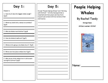 Reading Wonders Second Grade Leveled Reader Brochures Unit 1 Week 4 (All Levels)