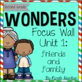 SECOND Grade Reading Wonders Unit 1 Focus Wall