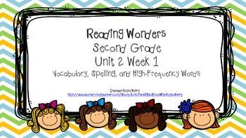 Reading Wonders Second Grade Unit 2 Week 1