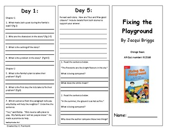 Reading Wonders Second Grade Unit 4 Week 3 Leveled Reader Brochures
