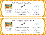 3rd Grade Reading Wonders Seesaw Task Cards Unit 3