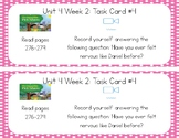 3rd Grade Reading Wonders Seesaw Task Cards Unit 4