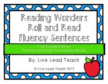 Reading Wonders Sentence Fluency Total Bundle