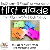 Reading Wonders Sight Word Mini-Flash Cards [First Grade]