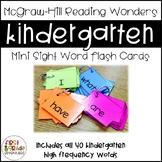 Reading Wonders Sight Word Mini-Flash Cards [Kindergarten]