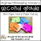 Reading Wonders Sight Word Mini-Flash Cards [Second Grade]