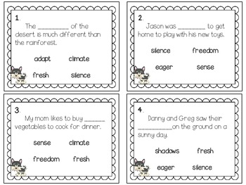 Reading Wonders~ Sled Dogs Run story activities (Unit 2, Week 1)