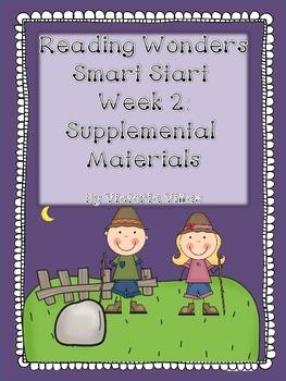 Reading Wonders Smart Start Week 2 Supplement