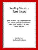 Reading Wonders Start Smart 1st Grade