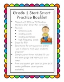 Reading Wonders Start Smart Booklet Grade 1