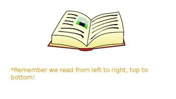 Reading Wonders Start Smart Week 1 Day 1