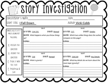 Reading Wonders Story Investigations Grade 2 Units 3 & 4