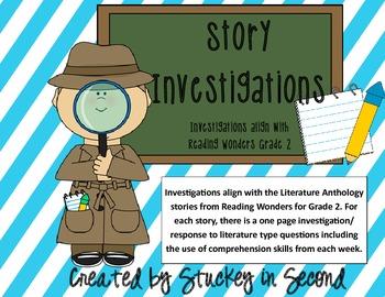 Reading Wonders Companion Story Investigations Grade 2 Units 3 & 4