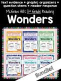 Third Grade Reading Wonders (ALL 6 UNITS!) Graphic Organiz