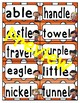 Reading Wonders Third Grade Spelling Word Wall BUNDLE PACK