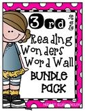 Reading Wonders Third Grade Spelling Word Wall BUNDLE PACK