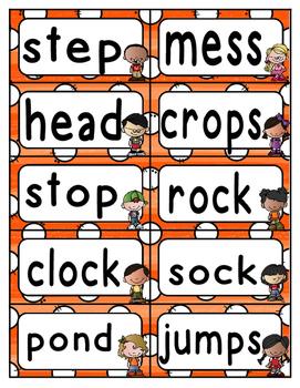 Reading Wonders Third Grade Spelling Word Wall Unit 1