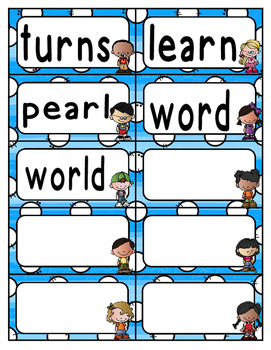 Reading Wonders Third Grade Spelling Word Wall Unit 3