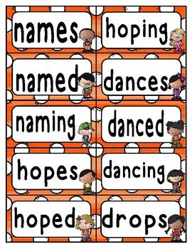 Reading Wonders Third Grade Spelling Word Wall Unit 5