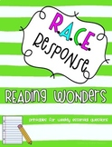 Reading Wonders Third Grade Unit 1 Bundle RACE