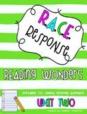 Reading Wonders Third Grade Unit 2 Bundle RACE Strategy