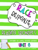Reading Wonders Third Grade Unit  6 Bundle RACE Strategy