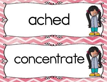 Reading Wonders Third Grade Vocabulary Centers Unit 1 Week 1
