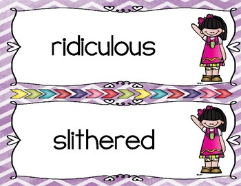 Reading Wonders Third Grade Vocabulary Centers Unit 6 Week 5
