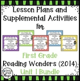 Reading Wonders UNIT 1 Bundle {First Grade}