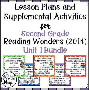 Second Grade Reading Wonders UNIT 1 Bundle