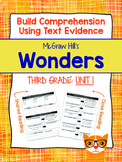 Third Grade Reading Wonders (Unit 1) Close Read Graphic Organizers