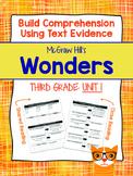 Third Grade Reading Wonders (Unit 1) Close Read Graphic Organizers