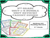 Reading Wonders Unit 1-6 Bundle Review / Parent Guides