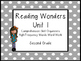 Reading Wonders Unit 1 High-Frequency Words Word Work and Comprehension