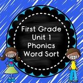 Unit 1 Phonics Word Sort