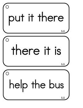 Reading Wonders - {Second Grade} - Unit 1 Phrase Race! Sight Word Phrase Cards