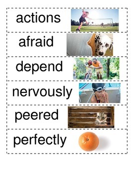 Reading Wonders 2nd Unit 1 Vocabulary Word Wall