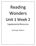 Reading Wonders Unit 1 Week 2 Grade 2 Resources