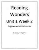 Reading Wonders Unit 1 Week 2 Grade 2 Resources