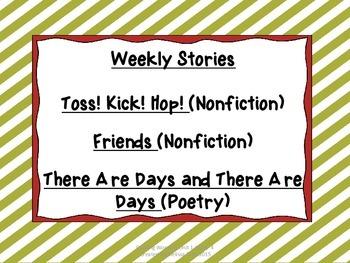 Reading Wonders Unit 1 Week 4
