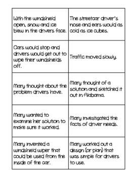 Reading Wonders Unit 1 Week 4 Cause and Effect Cards