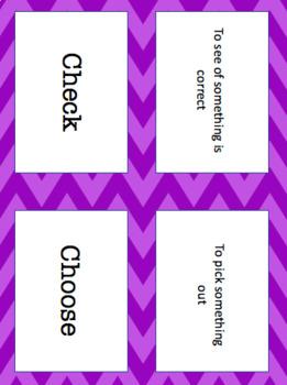 Reading Wonders Unit 1 Week 5 Vocabulary Pack