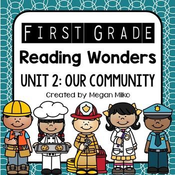 Reading Wonders Unit 2: Our Community