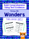 Third Grade Reading Wonders (Unit 2) Close Read Graphic Organizers