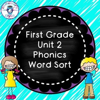Unit 2 Phonics Word Sort