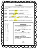 Reading Wonders Unit 2 Student Study Guides-3rd Grade