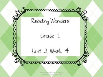 Reading Wonders Unit 2 Week 4