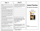 Reading Wonders Unit 2 Week 4 Leveled Reader Brochures