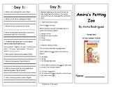 Reading Wonders Unit 2 Week 5 Leveled Reader Brochures