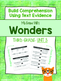Third Grade Reading Wonders (Unit 3) Close Read Graphic Or